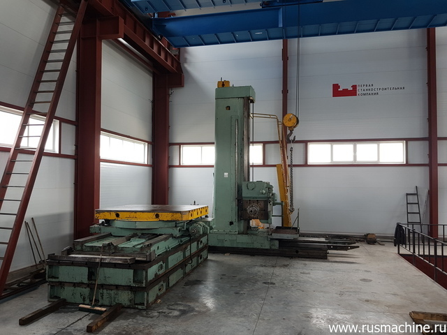 Floor type boring mill machine 2A656RF11