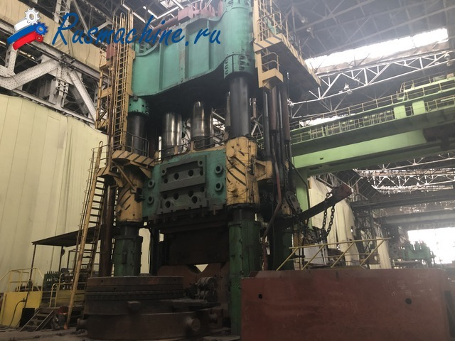 Open die forging press FORCE 10 000 ton