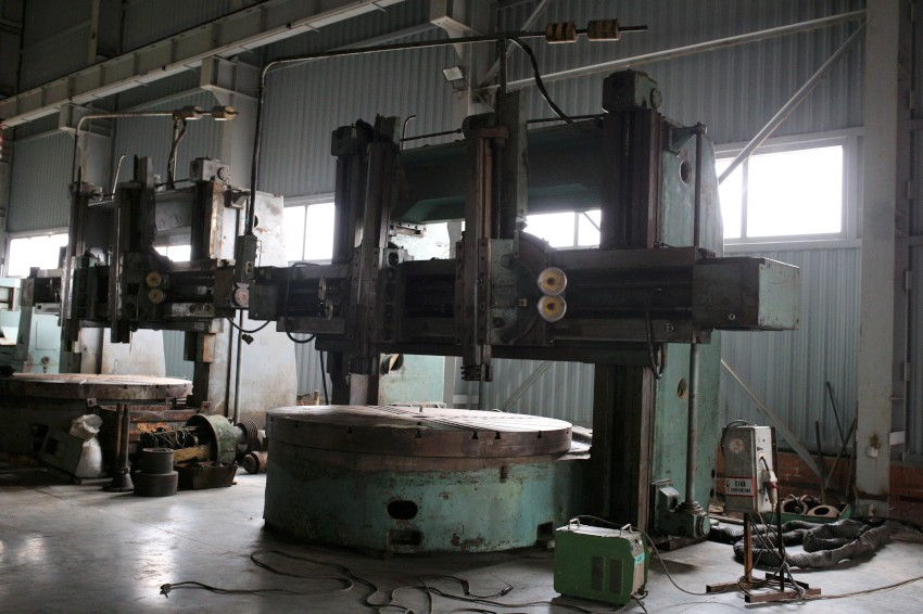 Vertical turning lathe 1L532 (3200x1600mm)