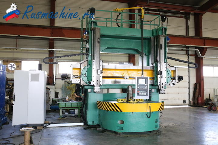 Double column cnc vertical turning lathe 1525F3 (D=2500mm)